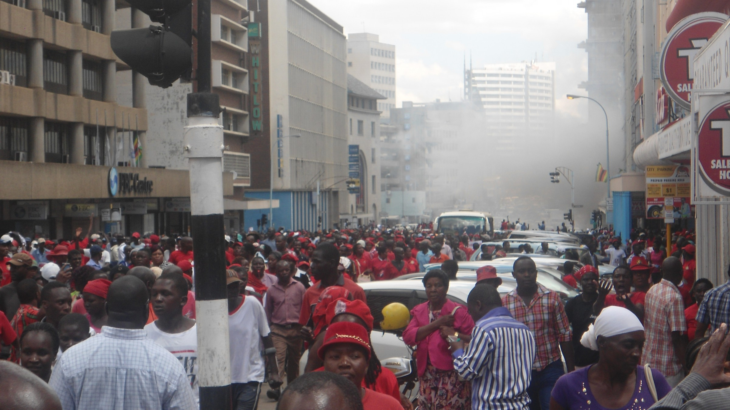 Zimbabwe Police To Ban Protests In Capital For A Month