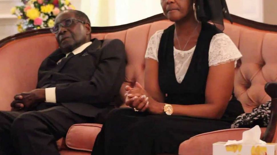 Image result for mugabe sleeping