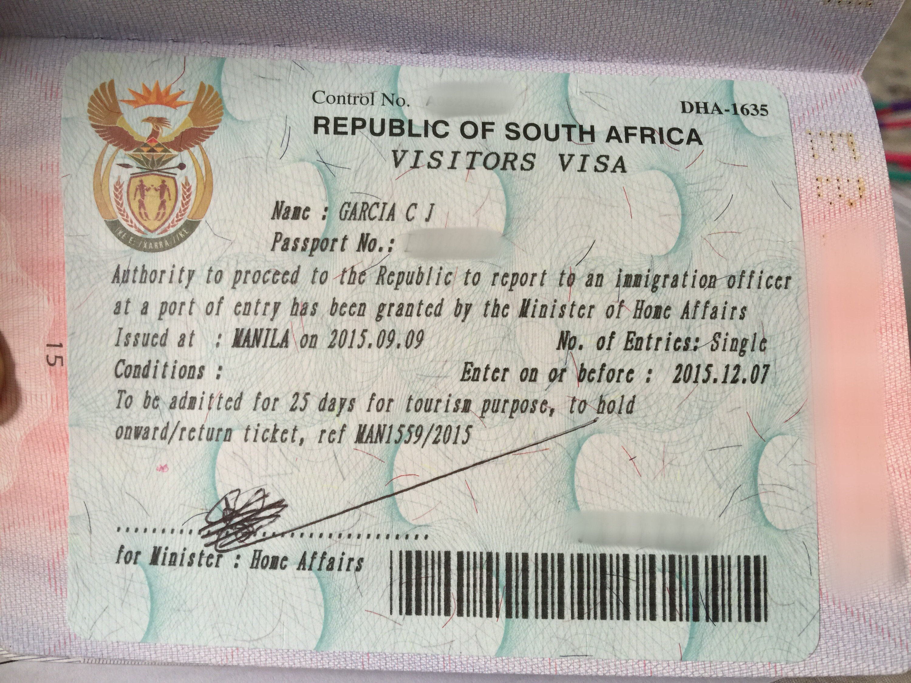 Working Visa To South Africa 22
