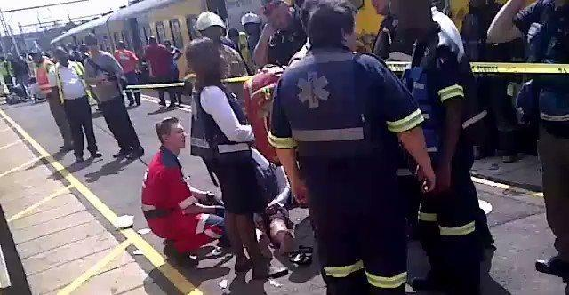 Metrorail confirms 30 injured in Germiston collision