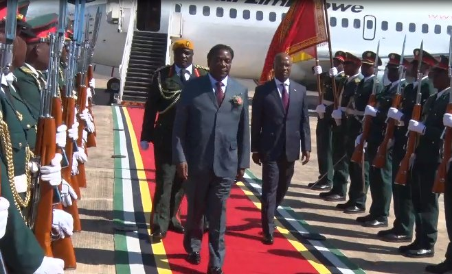 Zimbabwe President announces election in 4 to 5 months