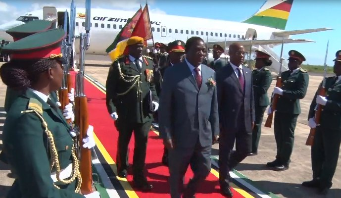 To become president, survive poisoning, jump borders -Mnangagwa