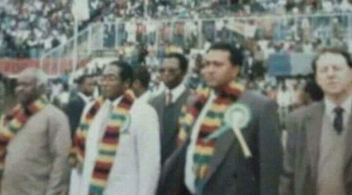 Image result for mnangagwa scarf mugabe