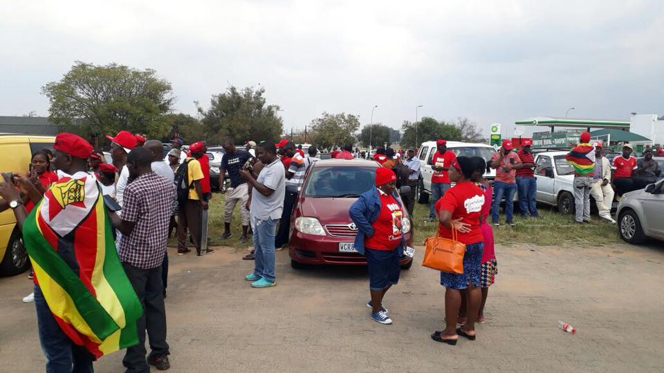VIDEO-LIVE UPDATES: Chamisa's Tembisa Rally, Thousands Crowd Into Hall  Waiting For Nero