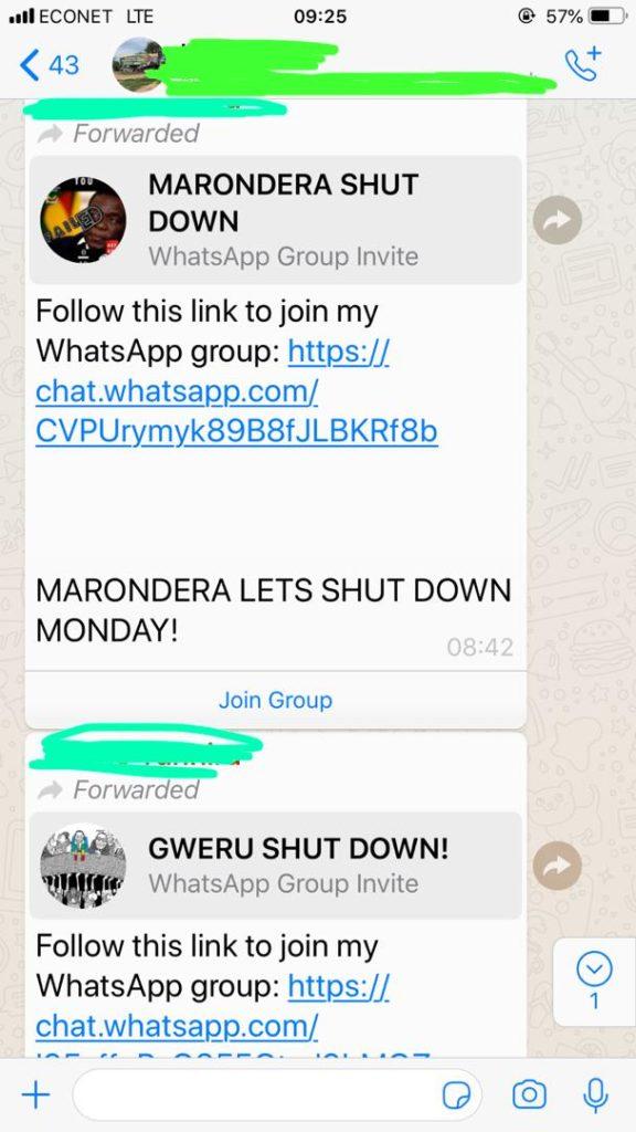Shutdown WhatsApp Groups Emerge In Hordes | Zambezi Post