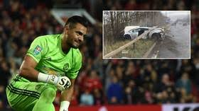 Man United Goalkeeper Survives Horrific Car Crash On Way To Training - ZimEye - Zimbabwe News
