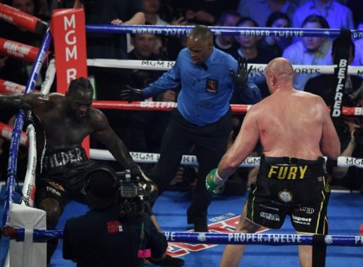 Deontay Wilder Was Rushed For Medical Attention Immediately After Seven Rounds Of Pounding By Tyson Fury - ZimEye - Zimbabwe News