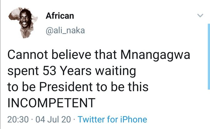 'Mnangagwa Spend 53 Years Waiting To Be An Incompetent President' thumbnail
